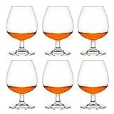 Libbey Venya Brandy - Bicchierini da liquore, 370 ml, 37 cl, 6 pezzi, lavabili in lavastoviglie