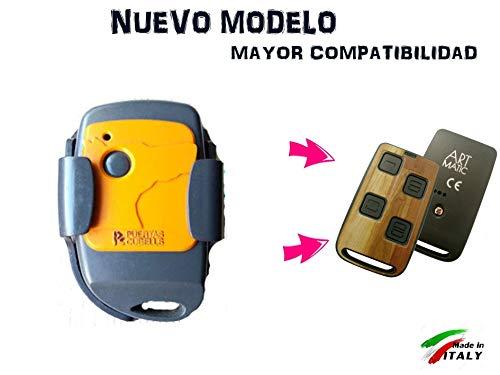 HR Multi 3 Mando DE Garaje Compatible Puertas CUBELLS Neo GO Mini GO. Puertas CUBELLS E4C DCS Plus JCM
