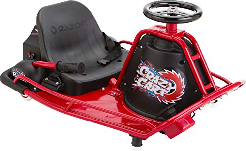 Razor Crazy Cart - Black/Red, One Size