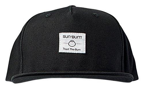 Sun Bum Label Hat, One Size, Black