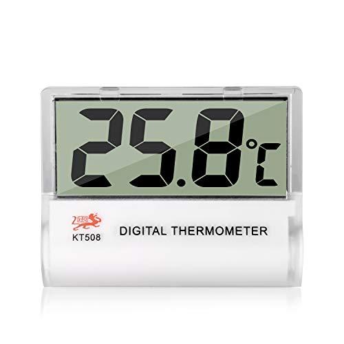 デジタルルーム温度計水槽温度計魚タンク水族館Vivarium両生類の爬虫類テラリウム温度のためのミニLCDデジタル水族館温度計