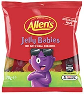 Allens Jelly Babies 70g x 20