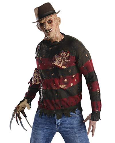 Horror-Shop Freddy Krueger Pullover mit Brandnarben One Size
