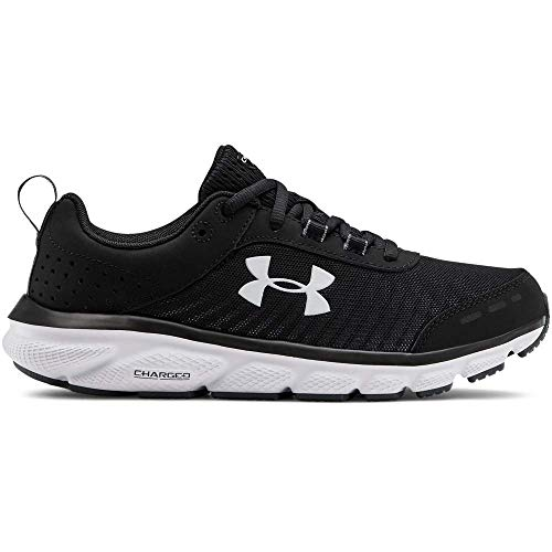 Under Armour Women's Charged Assert 8, Black (002)/Black, 8
