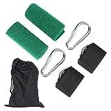 Gmasuber Correas para hamaca – árbol columpio correas para colgar cinturón Kit accesorios de apoyo para hamaca entrenamiento jardín camping
