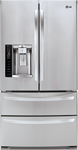 LG LMXS27626S27.0 Cu. Ft. Stainless Steel French Door Refrigerator - Energy Star