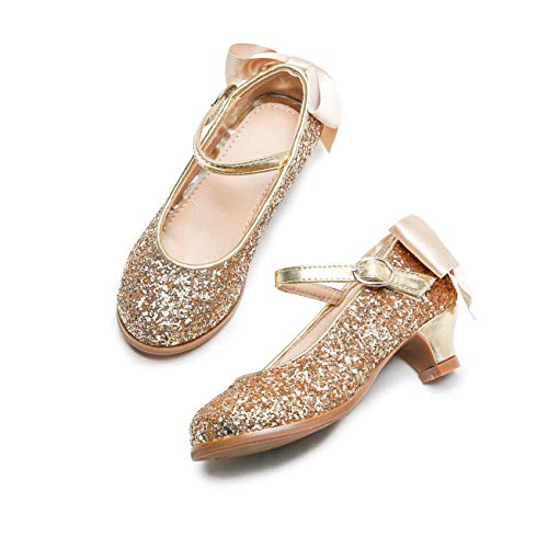 Otter MOMO Girls Mary Jane Shoes Low Heel Party Dress Shoes