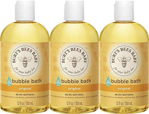 Burts Bees Baby Bubble Bath, Tear Free Baby Wash - 12 Ounce...