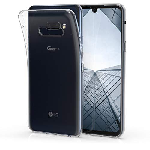 kwmobile Hülle kompatibel mit LG G8X ThinQ - Hülle Handy - Handyhülle in Transparent
