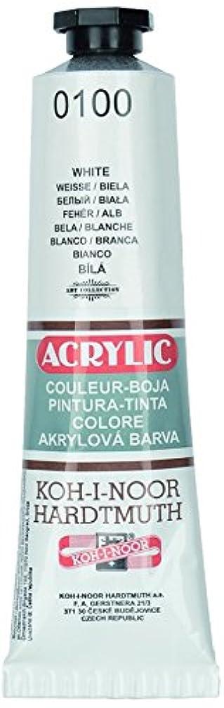 KOH-I-NOOR 016271100000 40 ml Acrylic Colour Paint - White
