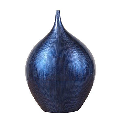 Howard Elliott 22110 Holzschale und Vase, Kobaltblau kleine Vase Small Kobaltblau