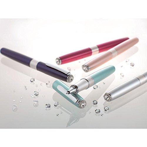 トンボ鉛筆水性ボールペンZOOM505SW0.5シルバーBW-LZS04