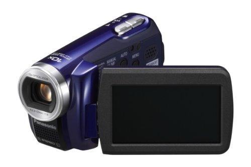 Panasonic SDR-S7EG-A Videocamera, Nero