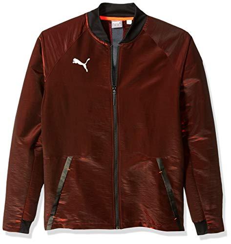 PUMA Men's FTBLNXT PRO Jacket, Black/red Blast, XX-Large