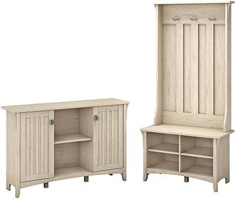 Best VASAGLE Hall Trees - Bush Furniture Salinas Entryway Storage Set with Hall Tree