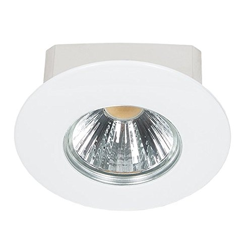 nobilé Downlight A 5068 T Flat IP44 weiß 8W 38 Grad, warmweiß NO-1856671023
