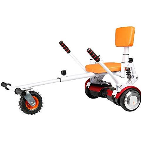 LOISK Hovercart FüR Hoverboard Go-Kart Sitz Hoverkart FüR Self-Balance Elektro Scooter Passt Alle Hoverboards GrößEn mit 6,5/8/10-Zoll-Rädern Geeignet für Erwachsene und Kinder