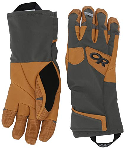 Outdoor Research Gants Extravert pour homme, anthracite/naturel, taille L