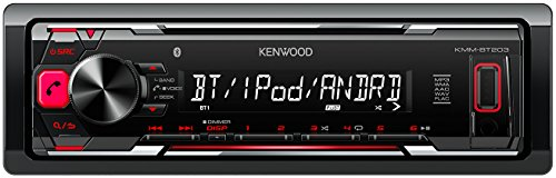 Kenwood KMM-BT203 - Radio para coche, color negro