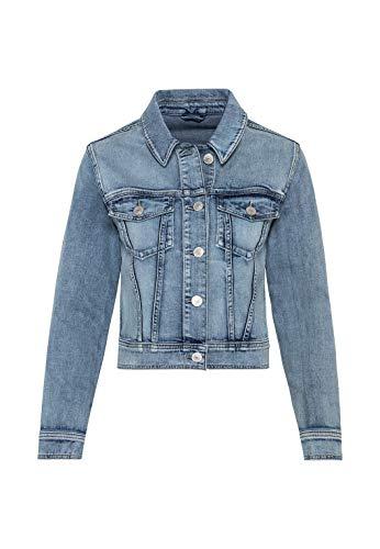 HALLHUBER Jeansjacke aus Candiani Denim gerade geschnitten Blue Denim, 42