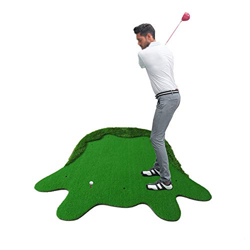 Best Prices! ZTJQD Golf Hitting Pad,Golf Mat,Indoor and Outdoor Golf Swing Practice Mat,High-Grade G...