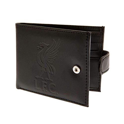 Liverpool FC Official RFID Leder Geldbörse (Einheitsgröße) (Schwarz)