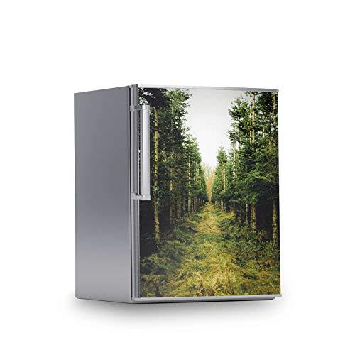 creatisto Kühlschrank Sticker I Dekoration für Kühlschrankfront - Klebesticker Aufkleber selbstklebend I Deko Küche - Design: Green Alley