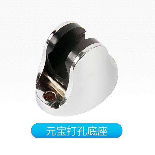zyh1229 Houder van aluminium zonder ruimte, met haken verstelbaar en douchekop verstelbaar voor de badkamer
