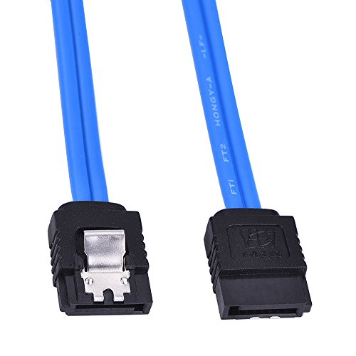 Mudder 5 Pack 18 Inch SATA III 6.0 Gbps Cable (Blue)