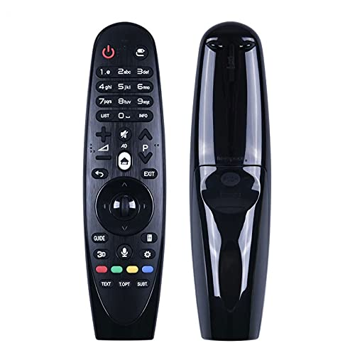 Wohai Control Remoto UN MR600 por LG Magic Smart TELEVISIÓN LED con Función De Voz Y Función De Ratón De AN-MR650 / 600G AM-HR600 / 650A