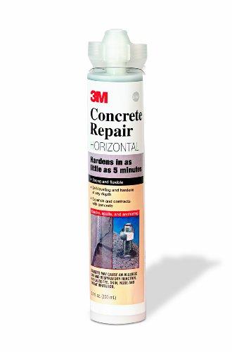 3M Concrete Repair Self-Leveling, Gray, 8.4 fl oz Cartridge