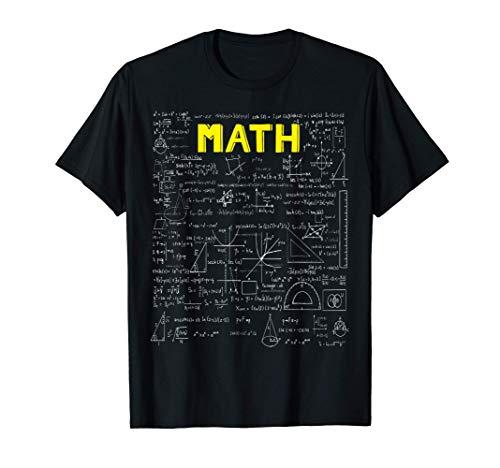 MATH, Mathe - Mathematik, Mathe Nerd T-Shirt