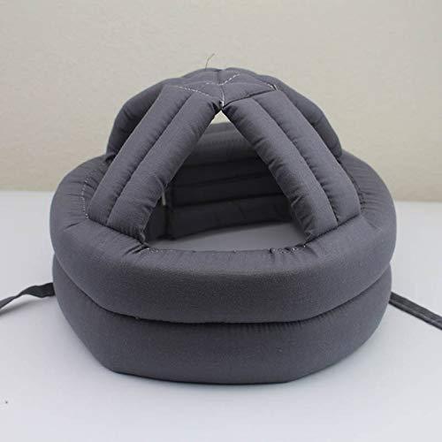 GHzzY Schutzhaube für ältere Menschen/atmungsaktive Anti-Schock-Kappe - Schwamm Helm für Senioren und Patienten - Kopfschutzhut zur Verhinderung von Sturz und Schock,3