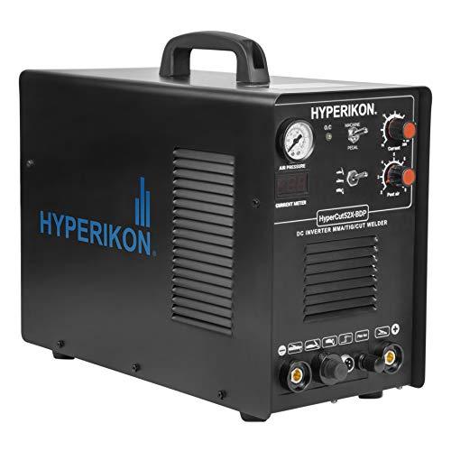 Hyperikon Plasma Cutter Pilot Arc, 3 in 1 TIG Welder, IGBT Inverter, 120V 240V...