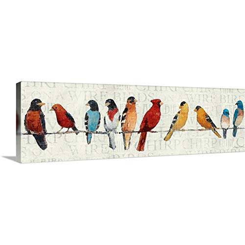 Birds On A Wire Canvas