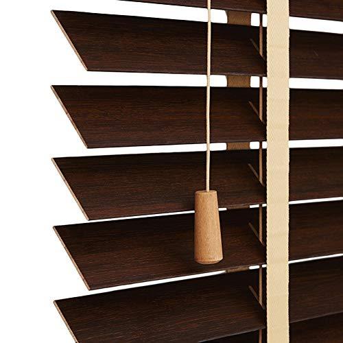Xiao Jian- Bamboe Blinds Woonkamer Slaapkamer Studie Aangepaste Shading Sun Lift Bamboe Gordijnen Isolatie Partitie Bamboe Rolgordijn 4 Kleur Multi-size Optioneel gordijn