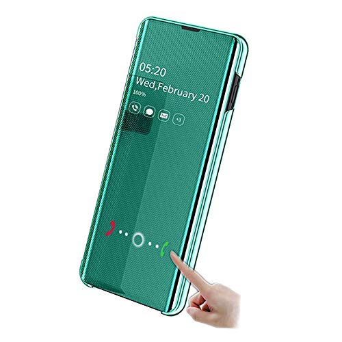 Huatong Electronics Funda Compatible Huawei P20 Lite/Nova 3E Funda Carcasa Cover Silicone Case Huawei P20 Lite/Nova 3E Funda Protectora Verde móvil Cover Slim Accesorios Funda Huawei Carcasa