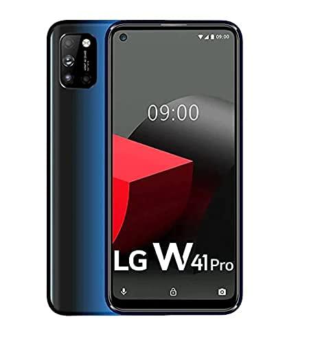 (Renewed) LG W41 Pro Laser Blue, 6GB Ram, 128GB Storage (48MP AI Quad Camera)