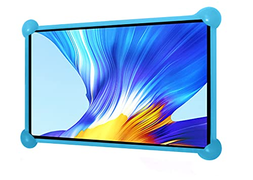 Cover tablet 7 pollici universale Silicone Valido per tutti i tablet da 7 pollici sul mercato custodia tablet 7 pollici cover tablet 7 pollici universali (Azzurro)