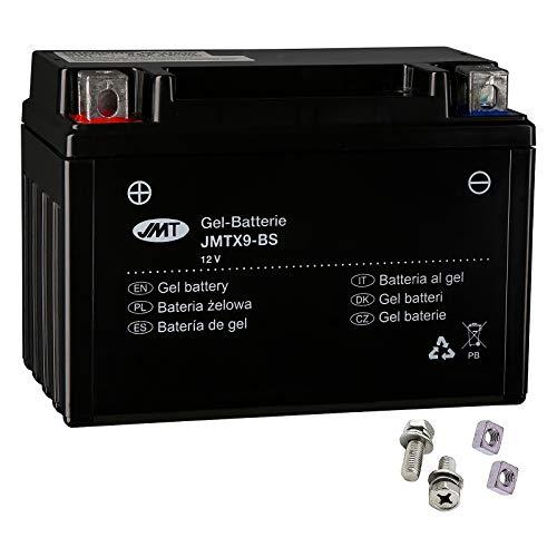 YTX9-BS Gel Batterie für Z 750 J Baujahr 2004-2006 von JMT