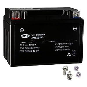 JMT YTX9-BS - Batería de gel para Z 800 A año de construcción 2013-2016