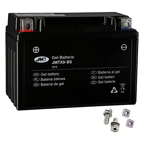 JMT YTX9-BS - Batería de gel FMX 650 2005-2007
