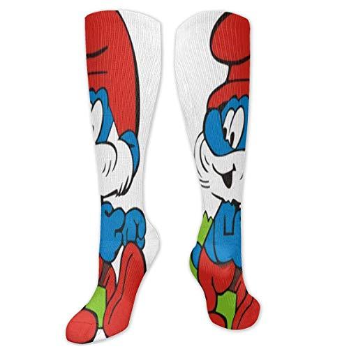 Lucky Home Die Schlümpfe Neutral Lässig Bequeme Sportsocken Basketball Socken Fußball Socken (1 Paar)