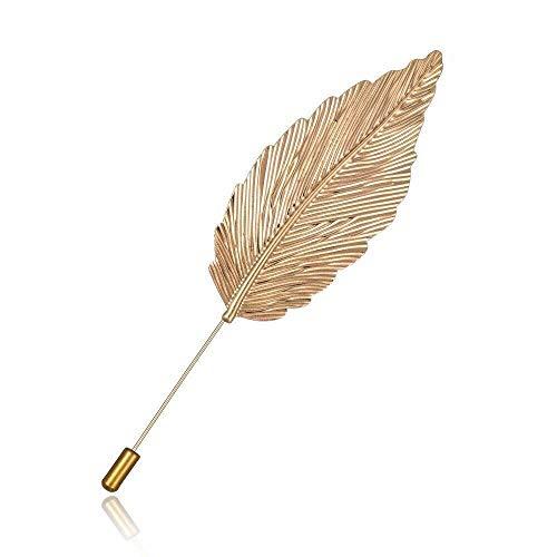 Y-XM 3*Broches de Bisuteria Broche alfiler Pluma Vintage la joyería de la aleación