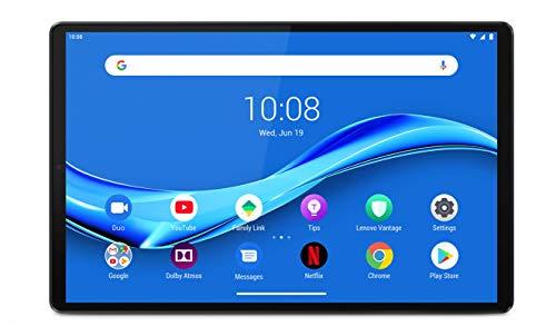 Lenovo Tab M10 Plus (2nd Gen) Tablet - Display 10.3' Full HD (Processore MediaTek Helio P22T, Storage 128 GB Espandibile fino a 256 GB, RAM 4 GB, WiFi+Bluetooth, 4G LTE, 2 Speaker, Android Pie) Grigio