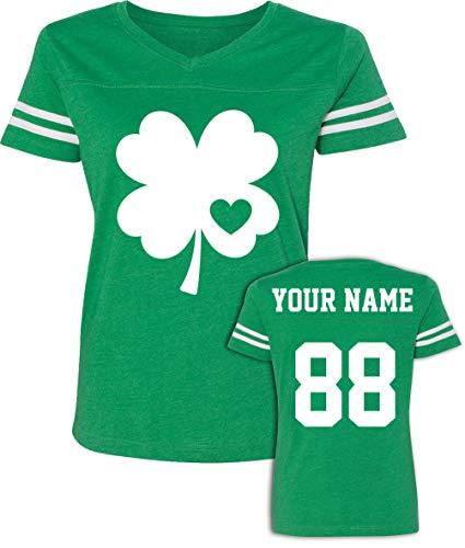Custom Jerseys St Patrick's Day T Shirts - Saint Pattys Jersey Tee & Irish Outfits