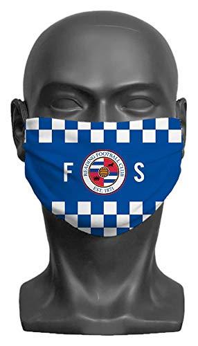 Personalised Reading FC Initials Adult Face Mask - Medium