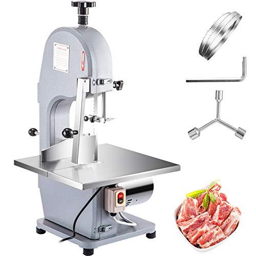 JALAL Máquina de Sierra para Huesos de Carne Máquina de Corte de Carne Comercial de 850 W para Cortar Huesos Utilizada para Cortar Carne congelada Varillas de Huesos Grandes
