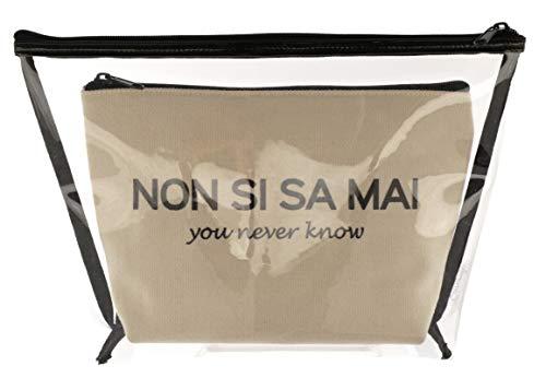Set Beauty L « Je ne Sais jamais Camomille Milano ». Blanc Blanc M
