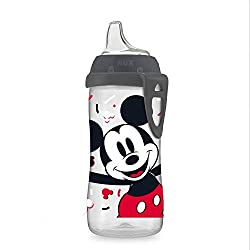 top rated NUK Disney Active Sippy Cup, Mickey Mouse, 10 oz, 1 piece 2021